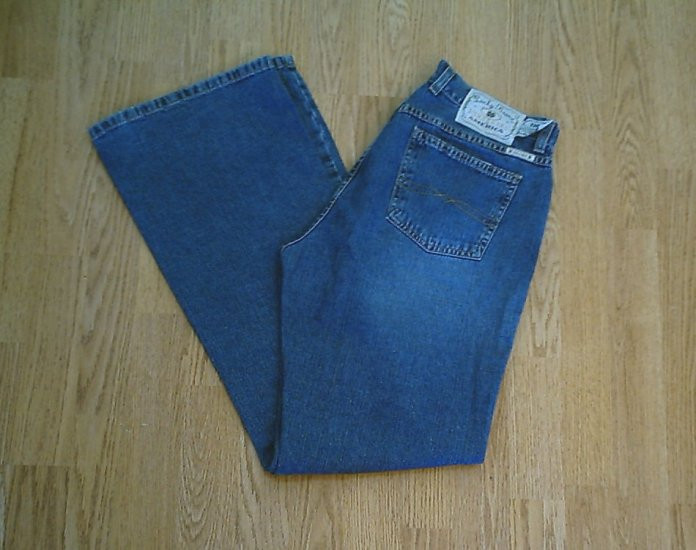 LUCKY LOWER RISE FLARE PEANUT PANT JEANS-10-32 X 33
