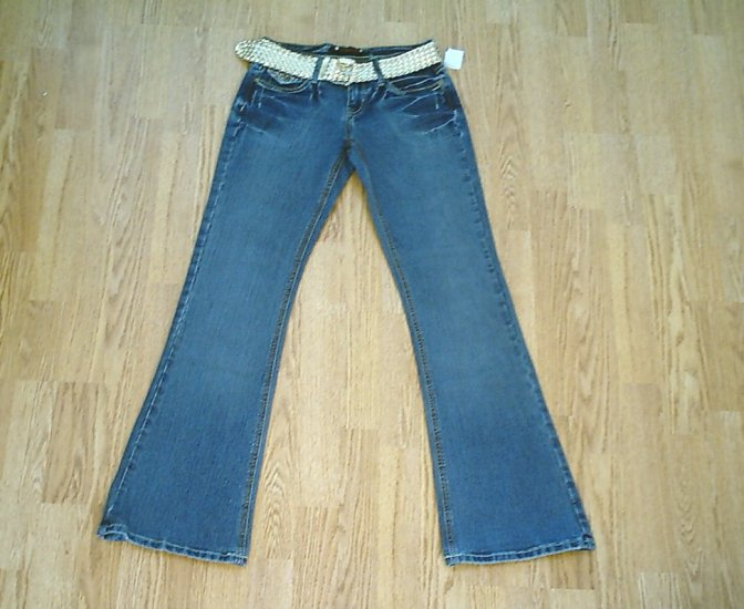 VANILLA STAR LOW RISE STRETCH JEANS-1-26 X 32 1/2-NWT