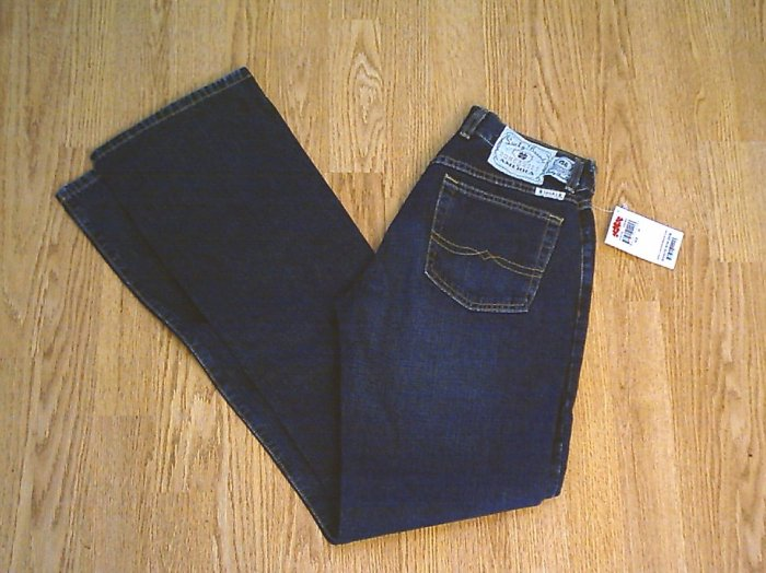 LUCKY PEANUT PANT LOWER RISE FLARE JEANS-4-28 X 35-NWT