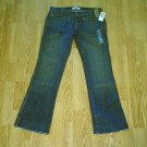 OLD NAVY ULTRA LOW WAIST BOOTCUT JEANS-6-32 X 33-NWT