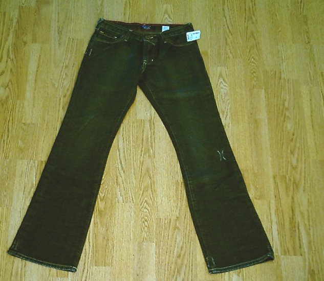 VON DUTCH LOW RISE BOOTCUT JEANS-29 X 32-TAG 27-NWT