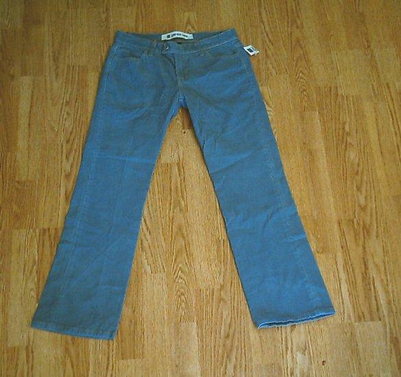 GAP JEANS LOW RISE CAPRI CORDUROY PANTS-4-30 X 29-NWT