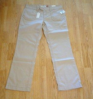 AEROPOSTALE JEANS BOOTCUT KHAKI PANTS-11/12-35 X 33-NWT
