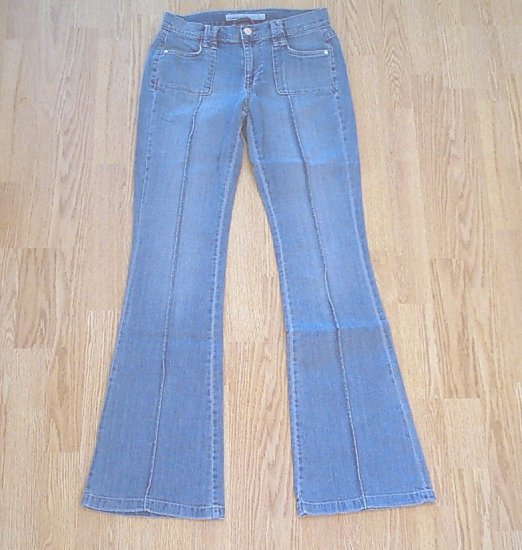 OLD NAVY STRETCH FLARE JEANS-2 TALL-28 X 35-NWT