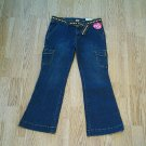 ARIZONA GIRLS CARGO STRETCH JEANS-SIZE 12 1/2 PLUS-NWT