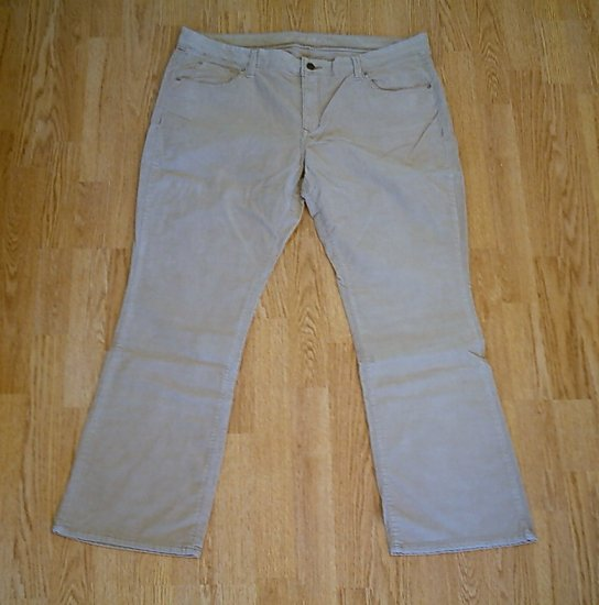OLD NAVY JEANS BOOTCUT CORDUROY PANTS-18-42 X 32-NWT