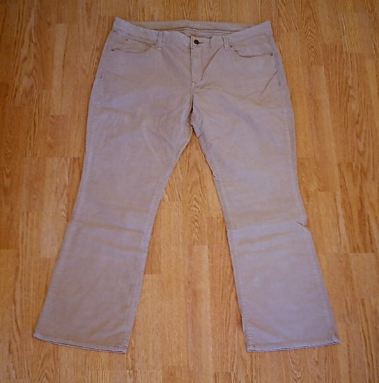 OLD NAVY JEANS BOOTCUT CORDUROY PANTS-SIZE 16-38/32-NWT