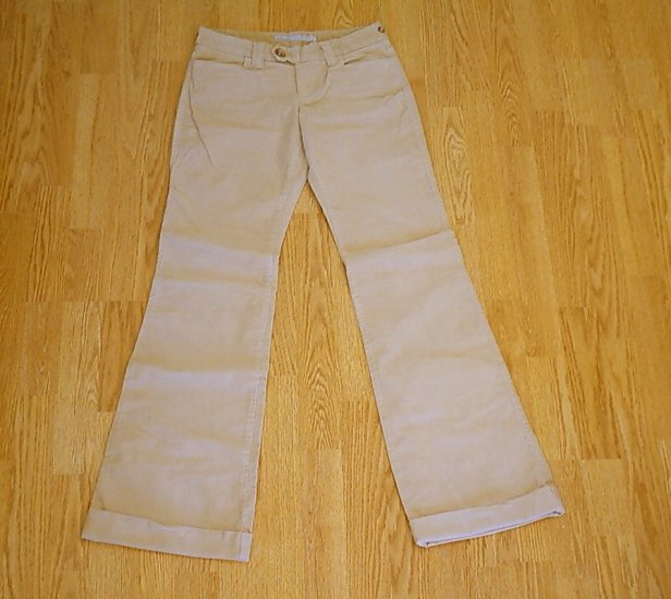 OLD NAVY JEANS FLARE CORDUROY PANTS-1 TALL-29 X 34 1/2-NWT