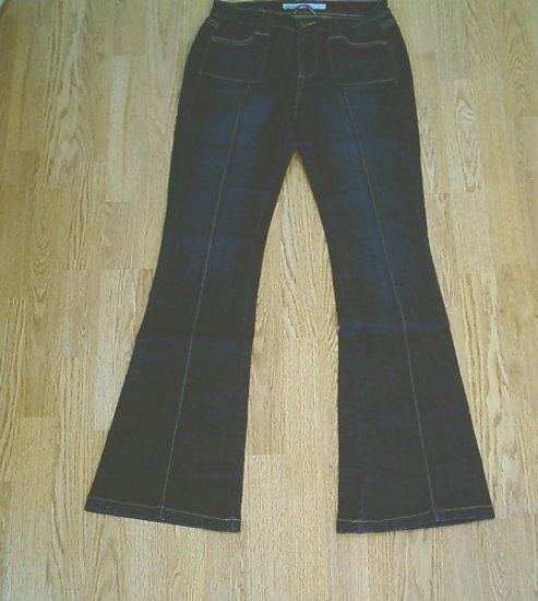 OLD NAVY STRETCH FLARE JEANS-SIZE 1 TALL-28 X 36 1/2-NWT