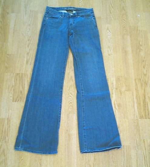 OLD NAVY STRETCH FLARE JEANS-SIZE 0 TALL-28 X 35-NWT