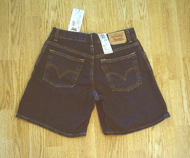 LEVIS JEANS 550 RELAXED DENIM SHORTS-SIZE 8-29 X 7-NWT