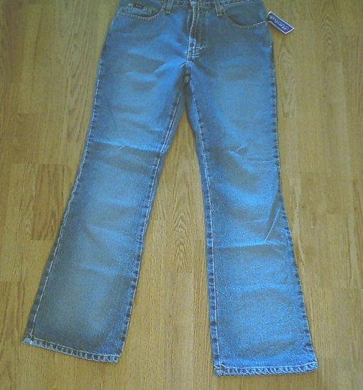 EXPRESS LOW FLARE LEG JEANS-SIZE 5/6 LONG-29 X 33-NWT