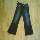 ARIZONA GIRLS FLARE STRETCH JEANS-7 SLIM-21 X 24.5-NWT