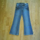 ARIZONA GIRLS FLARE STRETCH JEANS-8 SLIM-22 X 25-NWT