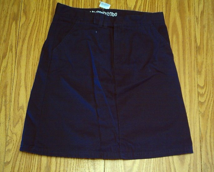 LIMITED TOO JEANS GIRLS UNIFORM NAVY SKIRT-SIZE 16-NWT