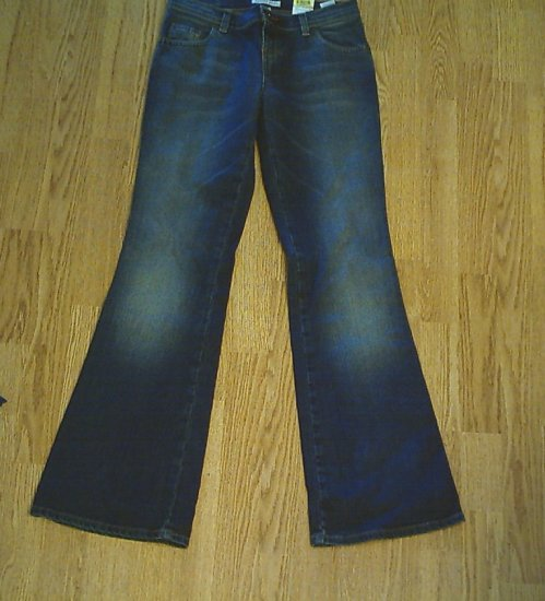 TOMMY HIP HUGGER FLARE JIVE JEANS-SIZE 3-29 X 32.5-NWT