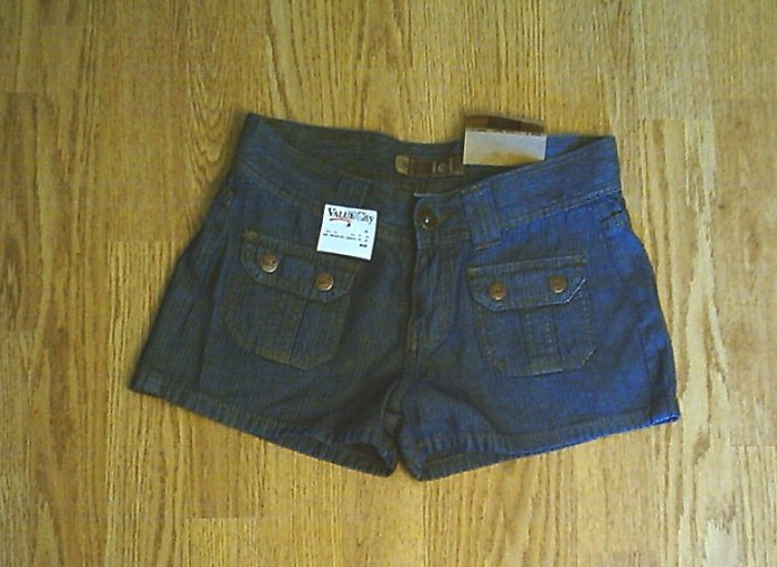 LEI JEANS LIGHTWEIGHT SHORTS-SIZE 7-27 X 2-NWT