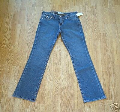 OLD NAVY MID RISE BOOTCUT STRETCH JEANS-4-31X 32-NWT