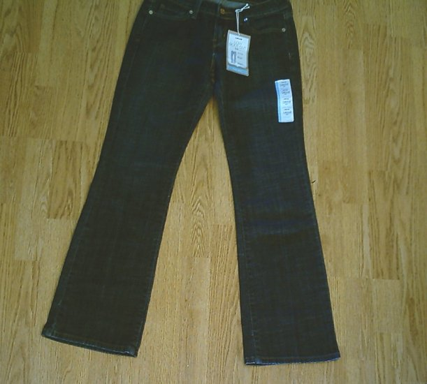 LEVIS 545 LOW BOOTCUT STRETCH JEANS-SIZE 4-30 X 32-NWT
