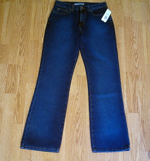 TOMMY HILFIGER PERFECT T JEANS-8-30 X 33-NWT $78