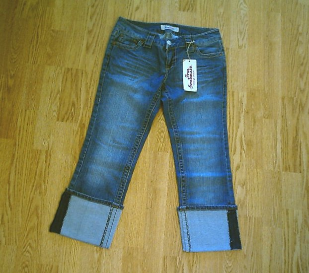 PARIS BLUES TRUE SOULMATE JEAN CAPRIS-7-31 X 25-NWT