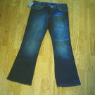 BLUE CULT LOW RISE FLARE KATE JEANS-33 X 33-TAG 30-NWT