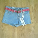 LEVIS JEANS 518 SUPERLOW SHORTS-SIZE 0-28 X 2 1/4-NWT