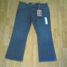 LEVIS 515 BOOTCUT STRETCH JEANS-16 PETITE-37 X 29-NWT