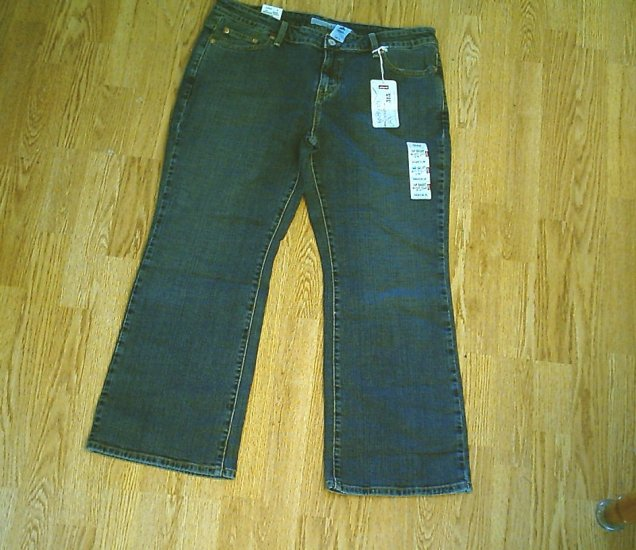 LEVIS 515 BOOTCUT STRETCH JEANS-14 PETITE-36 X 28-NWT