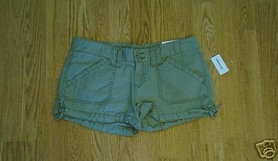AEROPOSTALE JEANS LOW RISE SHORTS-3/4-31 X 2 1/2-NWT
