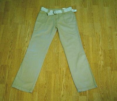 MAURICES BOOTCUT KHAKI PANTS-SIZE 1/2-28 X 32-NWT