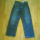 LEVIS 569 BOYS LOOSE STRAIGHT JEANS-14 SLIM-25 X 27-NWT