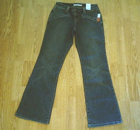 TOMMY LOW RISE FLARE STRETCH JEANS-SIZE 4-29 X 32-NWT