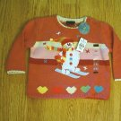 CHILDRENS PLACE JEANS GIRLS SWEATER-6-9 MONTHS-NWT