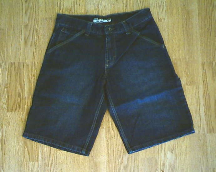 OLD NAVY JEANS LOOSE PAINTER SHORTS-SIZE 29-NWT