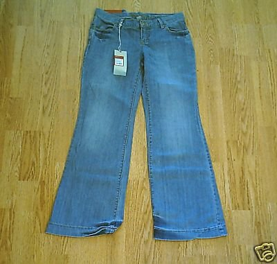 MOSSIMO LOW RISE WIDE LEG STRETCH JEANS-5-32 X 32-NWT