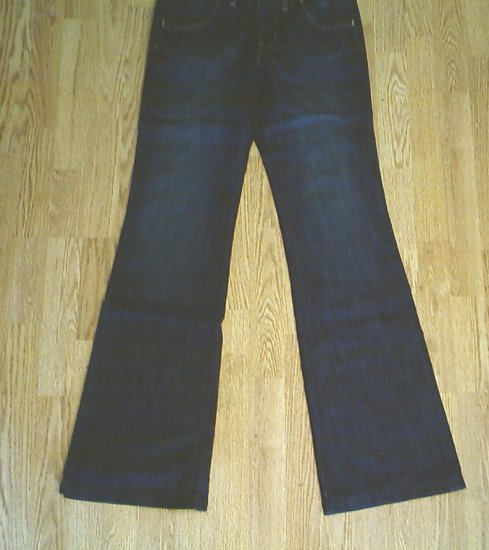 OLD NAVY MIDRISE FLARE JEANS-SIZE 4 TALL-31 X 37-NWT