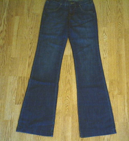 OLD NAVY MIDRISE FLARE JEANS-SIZE 0 TALL-28 X 36-NWT