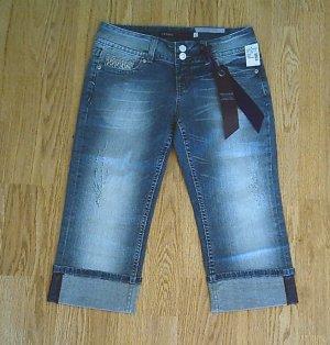 VIGOSS JEANS LOW RISE CAPRIS PANTS-SIZE 1-29 X 18.5-NWT