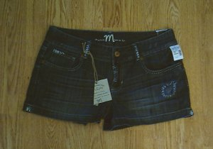 MAURICES JEANS MADISON SHORTS-SIZE 11/12-35 X 3-NWT