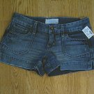 MAURICES JEANS DENIM SHORTS-SIZE 1/2-30 X 3-NWT