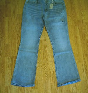 LEVIS BOOT STRETCH JEANS-SIZE 14-37 x 34 1/2-NWT $60