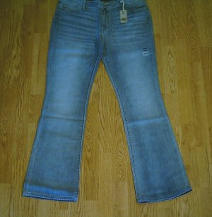 LEVIS BOOT STRETCH JEANS-SIZE 14-36 x 34-NWT $60