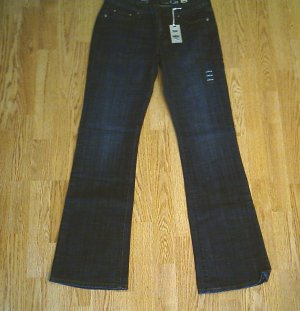 LEVIS BOOT STRETCH JEANS-SIZE 6-31 x 34 1/2-NWT $60
