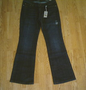 LEVIS BOOT STRETCH JEANS-SIZE 8-32 x 32-NWT $60