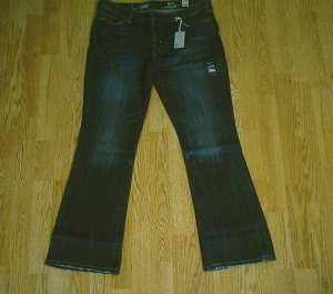 LEVIS BOOT STRETCH JEANS-SIZE 14-36 X 32-NWT $70