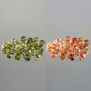 Natural 1mm round cut Alexandrite Gem stones India $2.50 each