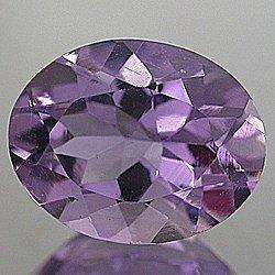 Huge Natural Vivid Purple Amethyst 16x12 oval cut gem 7.06 carats