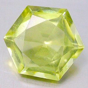 Natural 4.00 Ct. carat Lemon Citrine Fancy Hexagon cut gem stone 11mm $10.00 each
