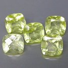 Natural Lemon Citrine Antique Cushion Cut  With Checker Board Table 5mm gems $5.00 each